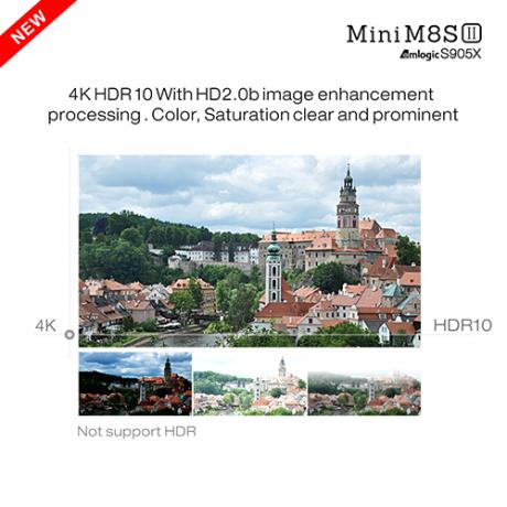 MiniM8SII-AmlogicS905X-RAM2GB-eMMC8GB-4